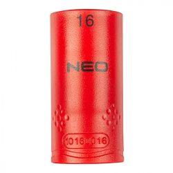"Dugókulcs hatlapú 1/2"" 16mm 1000V, szigetelt, NEO"