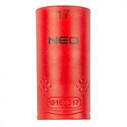 "Dugókulcs hatlapú 1/2"" 17mm 1000V, szigetelt, NEO"
