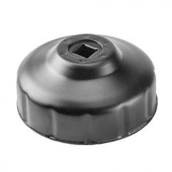 Olajszűrő kulcs 74 mm, 15 pontos, NEO