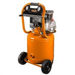 Olajos kompresszor, álló, 40 liter, 2 gyorscsatlakozó, 2 nyomásmérő