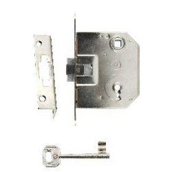 Bevésőzár 3371-55 kulcsos (3671) Anbo Lövér tipus