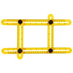 Szögmásoló vonalzó, 30x2.5cm / 17.5x2.5cm