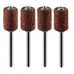 Csiszolóhüvely 6.3 mm, K60, K80, K120, K240, set 100 db + szár 3.2 mm, 2 db
