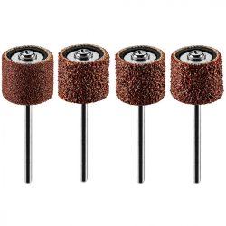 Csiszolóhüvely 12.7 mm, K60, K80, K120, K240, készlet 100 db + szár 3.2 mm, 2 db
