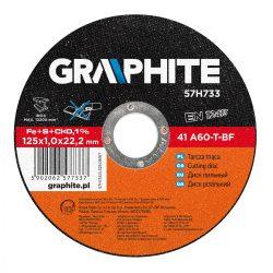 VÁGÓKORONG 125X1.0 INOx, GRAPHITE