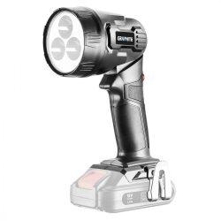 Akkus lámpa Energy+, 18V, Akku nélkül!, GRAPHITE