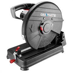 Fémvágó-, darabológép 2600W, 355 x25.4 mm, GRAPHITE