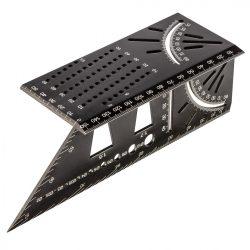 3D jelölő sablon, derékszög, vonalzó, szögmérő