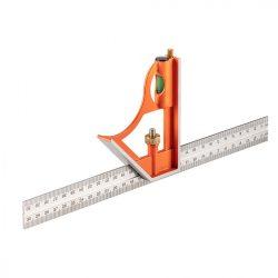 Profi szögmérő, derékszög és vonalzó 30cm