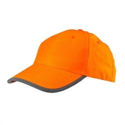 Láthatósági sapka, narancssárga
