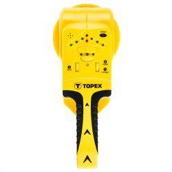 Detektor 3 az 1-ben fa/feszültség/fém, 9V, TOPEX