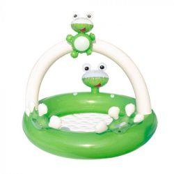 Bestway Béka Baby gyerek medence pancsoló 98 x 94 x 69 cm
