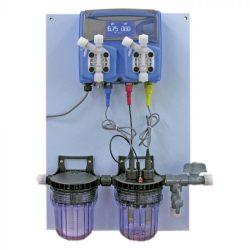 Automata vegyszer mérő és adagoló, pH és H2O2
